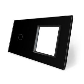 Panel szklany 1+G czarny WELAIK