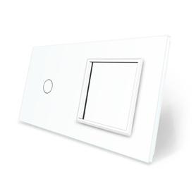 Panel szklany 1+G biały WELAIK