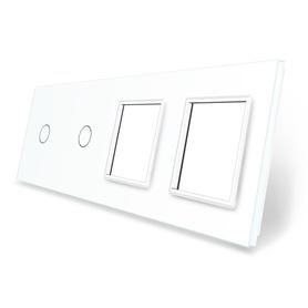 Panel szklany 1+1+G+G biały WELAIK