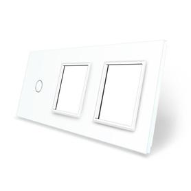 Panel szklany 1+G+G biały WELAIK