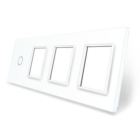 Panel szklany 1+G+G+G biały WELAIK