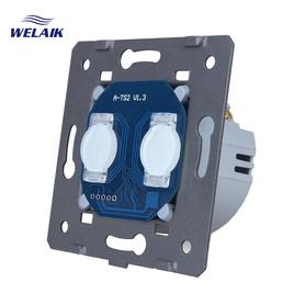 Moduł wyłącznik podwójny dotykowy WELAIK ® A921 / W-2