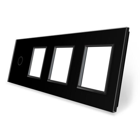 Panel szklany 1+G+G+G czarny WELAIK (1)