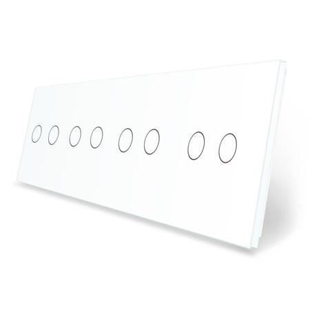 Panel szklany 2+2+2+2 Panel szklany 2+2+2+2 biały LIVE ON LOVE