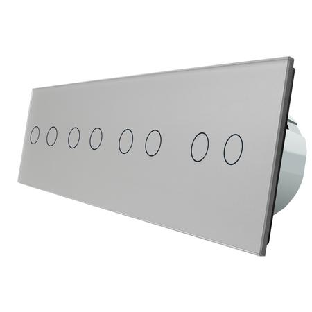 Włącznik dotykowy 2+2+2+2 zestaw (3)