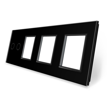 Panel szklany 2+G+G+G czarny WELAIK (1)